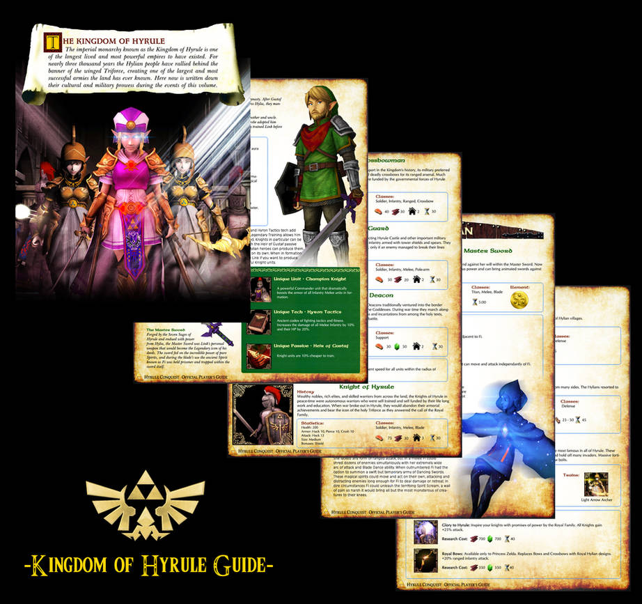 Hyrule Conquest Guide - Kingdom of Hyrule by UndyingNephalim on
