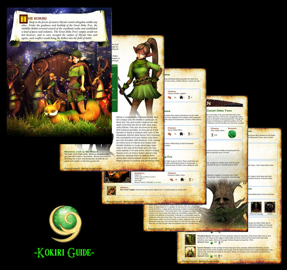 Hyrule Conquest Guide - Kokiri by UndyingNephalim
