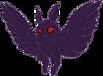 Mothman flying animation by CorvidVolk