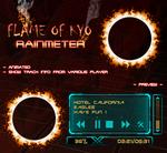 Flame Of Kyo Player Rainmeter