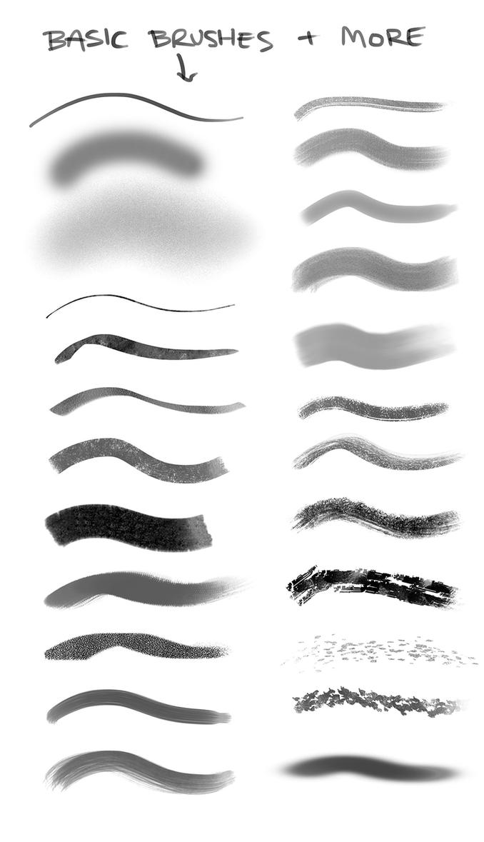 Rhys Griffiths Brushes by RhysGriffiths