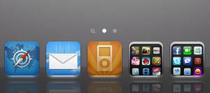 iOS 4.x ReflectiveDock