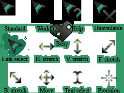 Animated Chrysalis cursor by LiatLNS