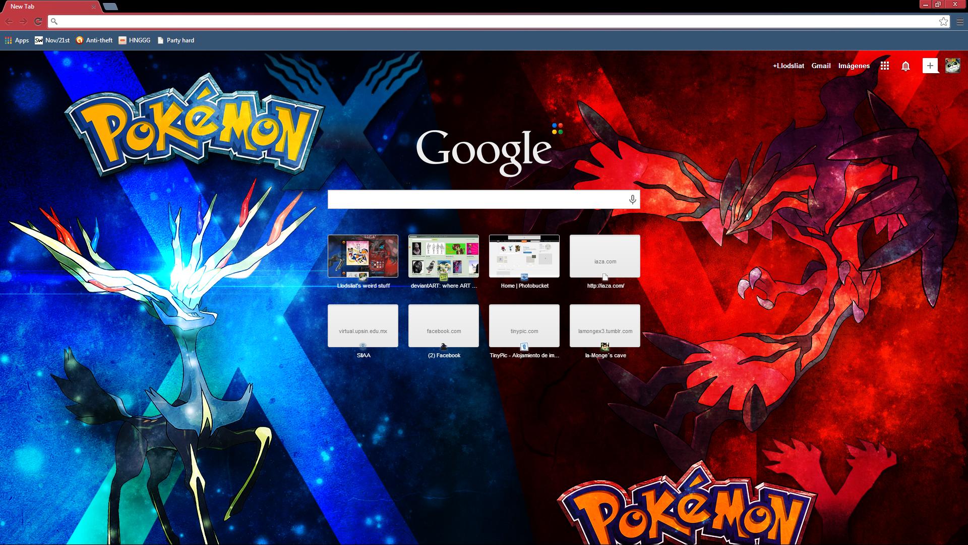 Pokemon X Y Chrome Theme By Llodsliatlns On Deviantart