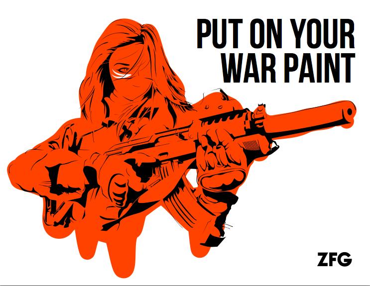 Warpaint by ZFG-Street-Art