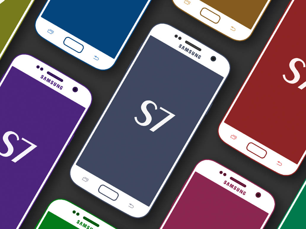 Samsung Galaxy S7 Cool MockUp by RiidaVat