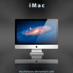 iMac Freebie .PSD by machetaseo