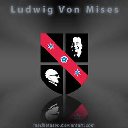 Ludwig Von Mises Logo Freebie .PSD by machetaseo
