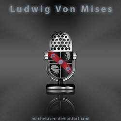 Ludwig Von Mises Phone Freebie .PSD by machetaseo