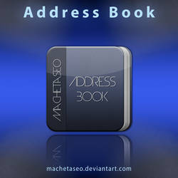 Address Book Freebie .PSD by machetaseo