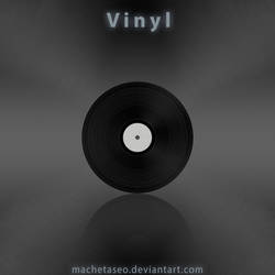 Vinyl Freebie .PSD by machetaseo