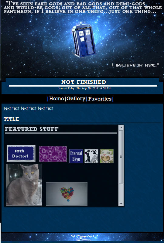 Rose, Doctor Who Skin by Eternal-Skye