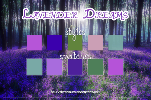 Lavender Dreams by DollyTutoriales by DollyTutoriales