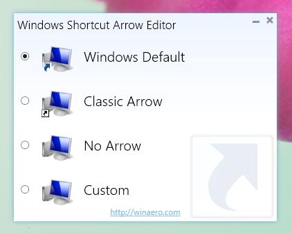 Windows Shortcut Arrow Editor by hb860