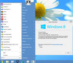 Windows 8-styled Skin Pack for Classic Shell