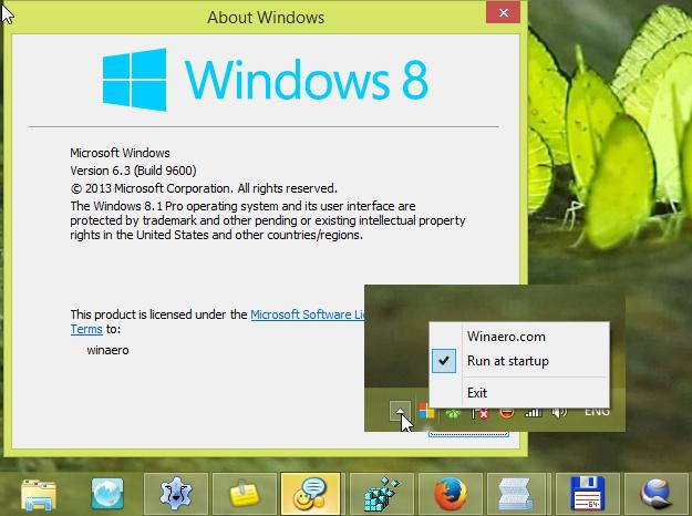 StartIsGone: disable Start button in Windows 8.1