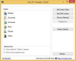 This PC Tweaker 1.0 by hb860