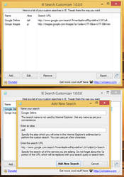 IE Search Customizer