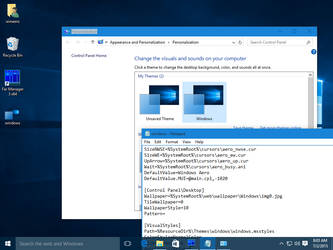 Windows 10 colored title bars