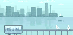 That smell of water (lazy pixel animation)