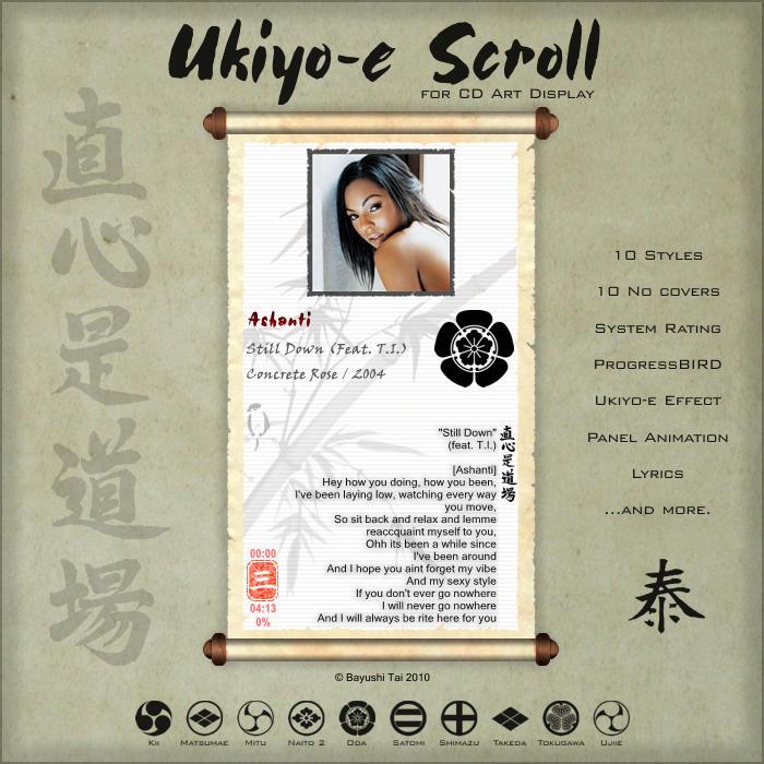 Ukiyo-e Scroll for CAD by Bayushi-Tai