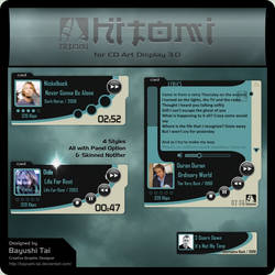 Hitomi skin for CD Art Display