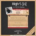 High-5 for CD Art Display