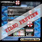 Video Preview: Umbrella Corp for CD Art Display