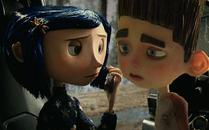 Norman And Coraline Kiss: Naughty Boy By AbigailBreslin On