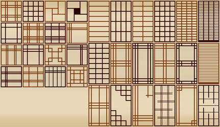 Shoji Screen Patterns
