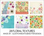 28 Floral Textures
