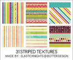 31 Striped Textures