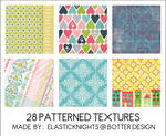 28 Patterned Textures