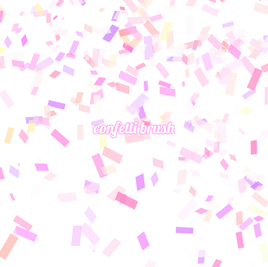 confetti brush by rieule