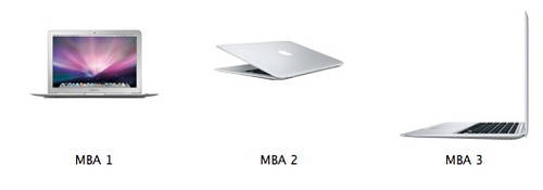 MacBook Air Icons by markdelete