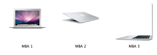 MacBook Air Icons