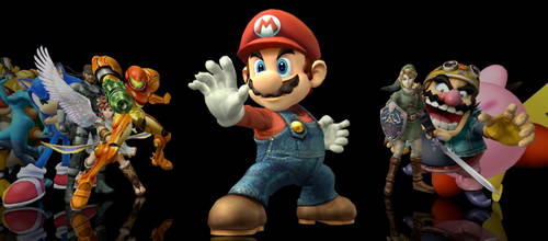 Super Smash Bros. Brawl Icons by markdelete