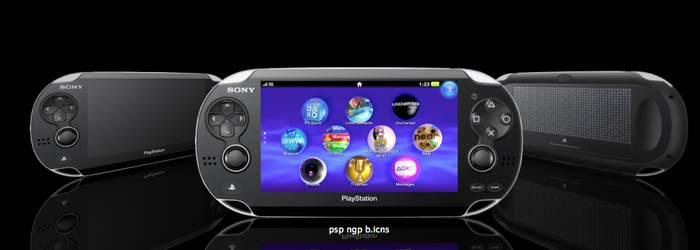 Sony PSP NGP Icons