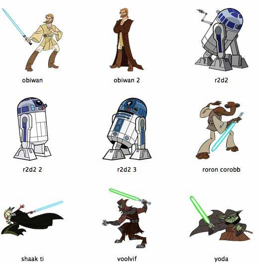 Star Wars Clone Wars by markdelete