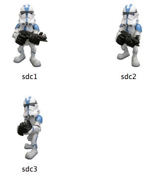 Star Wars Super Deformed Clone by markdelete