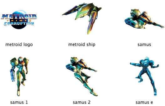 MEtroid Prime 3 for Wii by markdelete