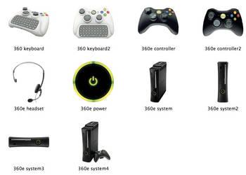 Xbox 360 Elite Icons by markdelete