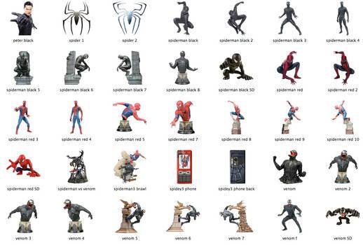 Spider-Man 3 Icons