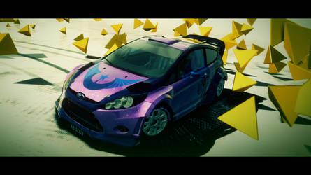 DiRT 3 Livery - Luna Fiesta RS by BobUy00
