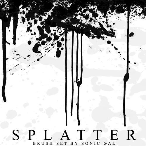 Splatter Brushes by Sonic-Gal007