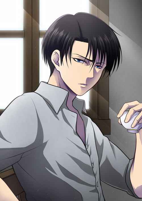 Levi X Reader Office Hours Au By Slowlymoved On
