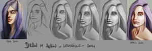 Lestaelle - portrait process