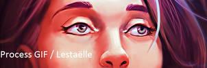 Process GIF / 20160304 Lestaelle by EvilPNMI