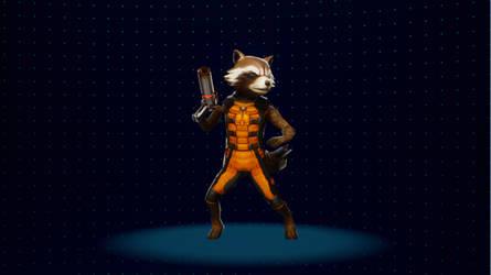 [MVCI Mod] MFF Movie Rocket Raccoon (C1) by SBandKLKFan3435