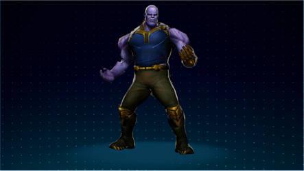 [MVCI Mod] MFF Movie Thanos (C1) by SBandKLKFan3435